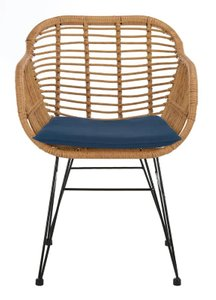 Alena 3 Piece Rattan Seating Group With Cushions