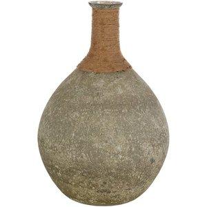 Glacia Vase Sage And Tan