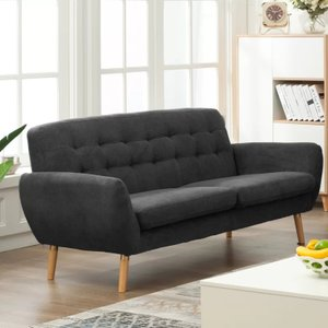 Waldo Modern Sofa Gray
