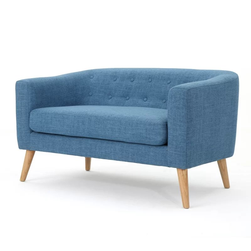 Plato Loveseat Blue