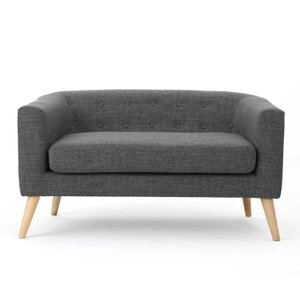 Plato Loveseat Gray