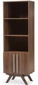 Sag Standard Bookcase Walnut Brown