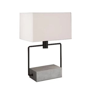 "Holden 23"" Table Lamp Gray"