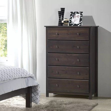 Stubb 5 Drawer Chest Espresso