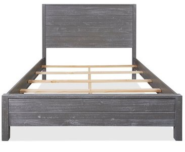 Montauk Queen Bed Rustic Gray