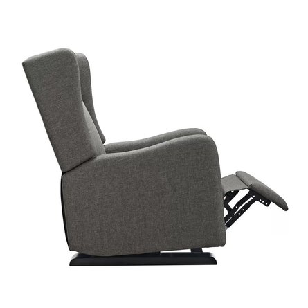 Pamlico Manual Glider Recliner Gray