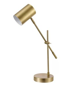 "Chort 20"" Desk Lamp Brass"