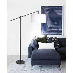 "Hatherleigh 69"" Task Floor Lamp Bronze"