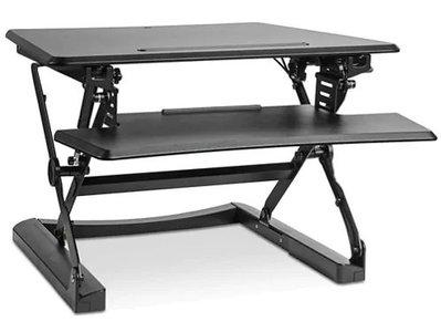 Sit-Stand Desktop Riser Small Black