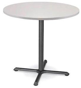 "Round 36"" x 42"" Bar Table Light Gray"
