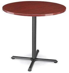 """Round 36"""" x 42"""" Bar Table Mahogany"""