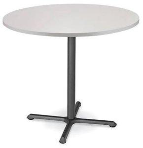 "Round 42"" x 42"" Bar Table Light Gray"