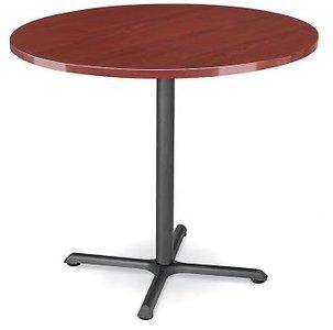 """Round 42"""" x 42"""" Bar Table Mahogany"""