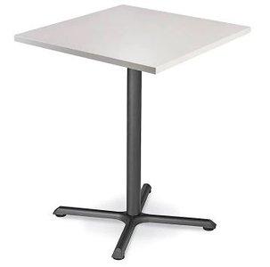 "Square 36"" x 42"" Bar Table Light Gray"