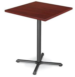 "Square 36"" x 42"" Bar Table Mahogany"
