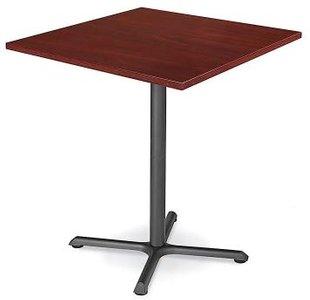 "Square 42"" x 42"" Bar Table Mahogany"