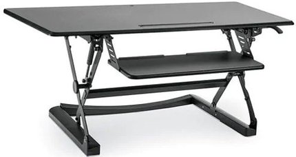 Sit-Stand Desktop Riser Large Black