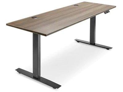 Adjustable Height Desk 72 x 24 Gray