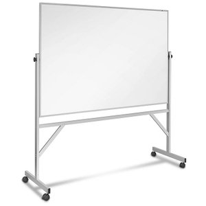 Magnetic Steel 6' x 4' Mobile Dry Erase Board