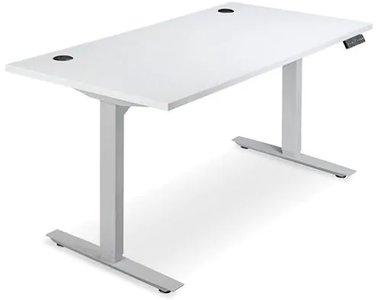 Adjustable Height Desk 60 x 30 White