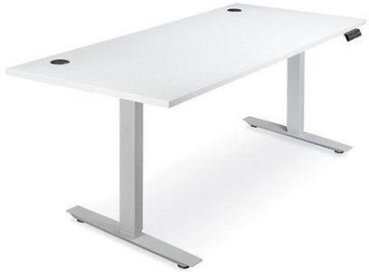 Adjustable Height Desk 72 x 30 White