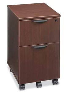 Downtown Mobile Pedestal File Cabinet Espresso