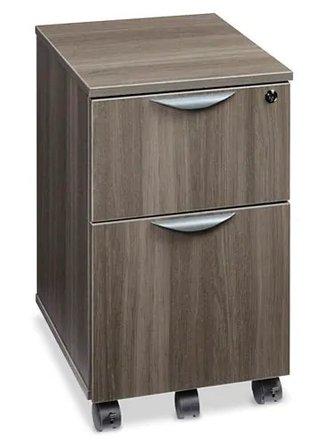 Downtown Mobile Pedestal File Cabinet Gray