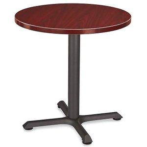 """Round 30"""" Cafe Table Mahogany"""