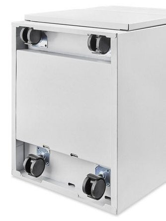 Mobile Pedestal File Cabinet 2 Drawer White