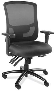 Luxury Mesh Back Office Chair Black