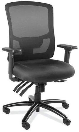 Luxury Mesh Back Office Chair Black