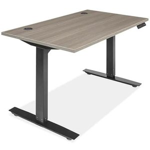 Adjustable Height Desk 48 x 30 Gray
