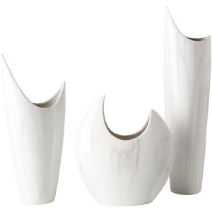 Hamilton Vase White (Set of 3)