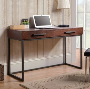 Crux Writing Desk Brown