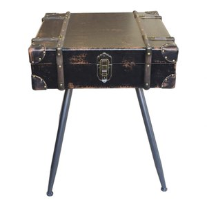 Davy Jones Side Table Vintage Brown