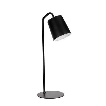 """Breese Modern 23"""" Desk Lamp Matte Black"""