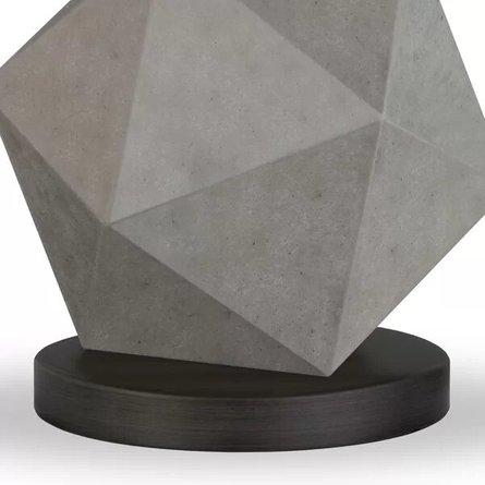"Cleek 19.5"" Table Lamp Gray"