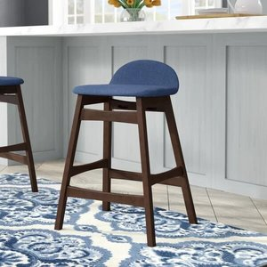 Kohut Bar Stool Blue (Set Of 2)