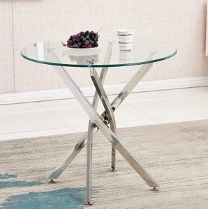 Taurus Dining Table Silver