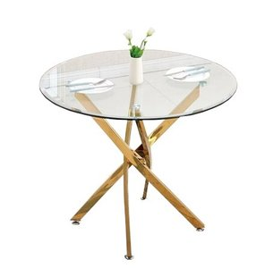 Taurus Dining Table Gold