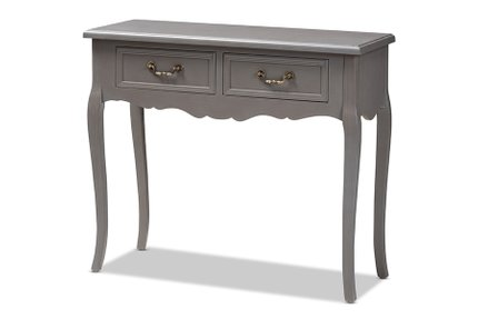 Capucine Console Table Gray