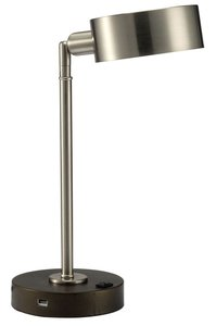 Gail Table Lamp Stain Nickel
