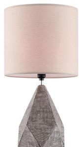 Zoe Table Lamp Silver