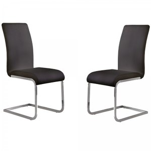 Cancer Side Chair Black (Set of 2)