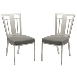 Aube Contemporary Dining Chair (Set of 2)