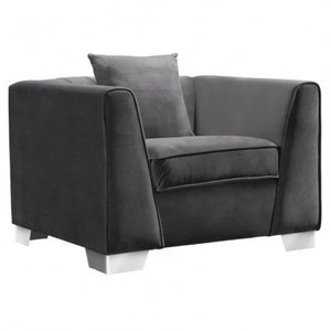 Avon Contemporary Sofa Chair Dark Gray