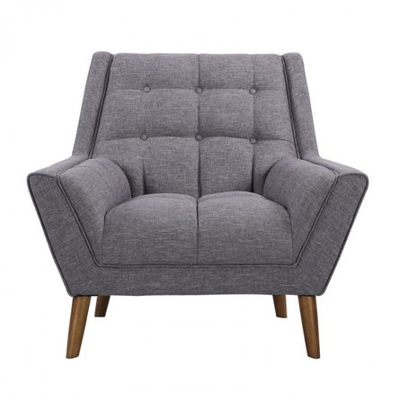 Boyne Mid-Century Modern Chair Dark Gray