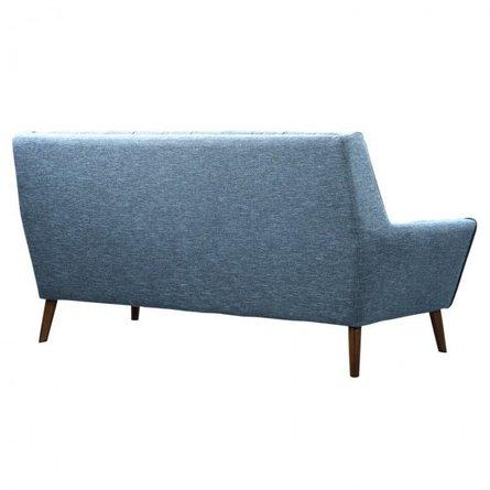 Boyne Mid-Century Modern Sofa Blue