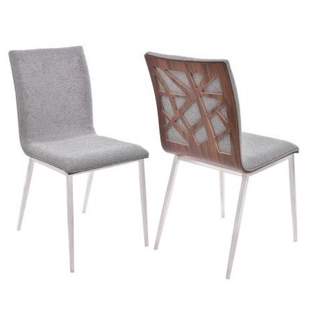 Bonnie Dining Chair Gray (Set of 2)