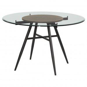 Alkurhah Contemporary Round Dining Table